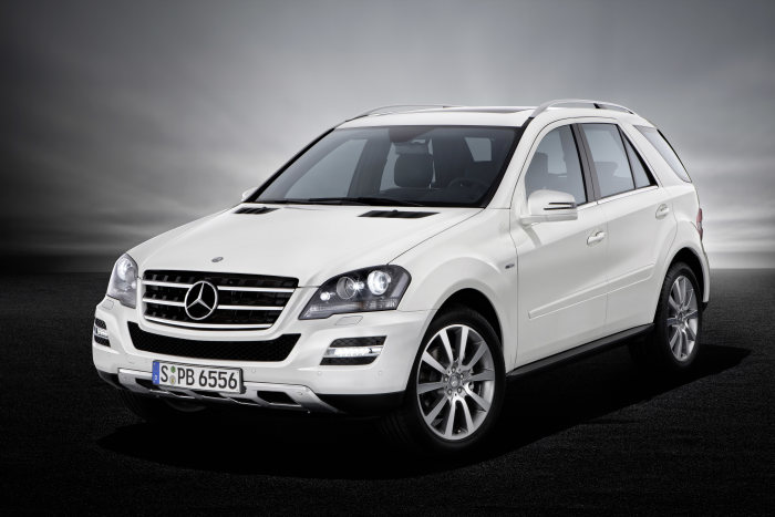 Mercedes-Benz M-Class Grand Edition, exterior