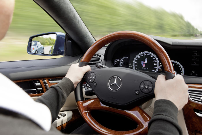 Mercedes-Benz CL-Class, driver assistance systems, 2010 model year