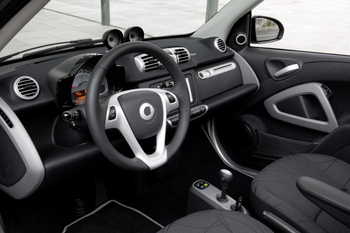 smart fortwo 2010, Interieur