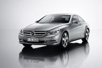 Mercedes-Benz CL-Class 2010 model year, design