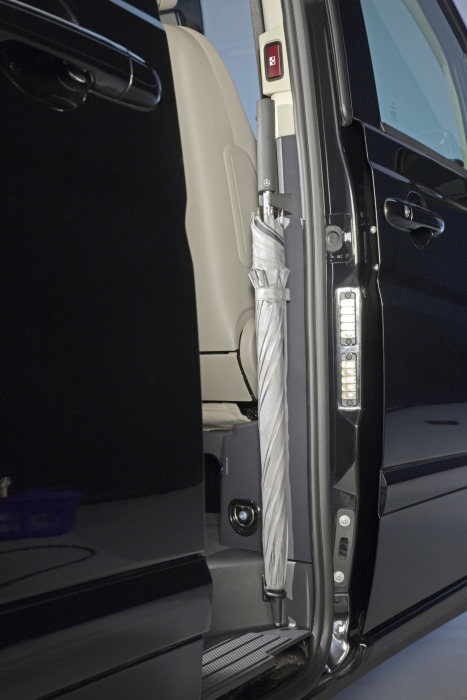 The new Mercedes-Benz Viano, interior, detail