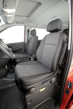 The new Mercedes-Benz Vito, interior
