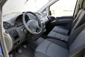 Mercedes-Benz Vito Crew, interior