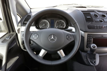 Mercedes-Benz Vito Shuttle, interior