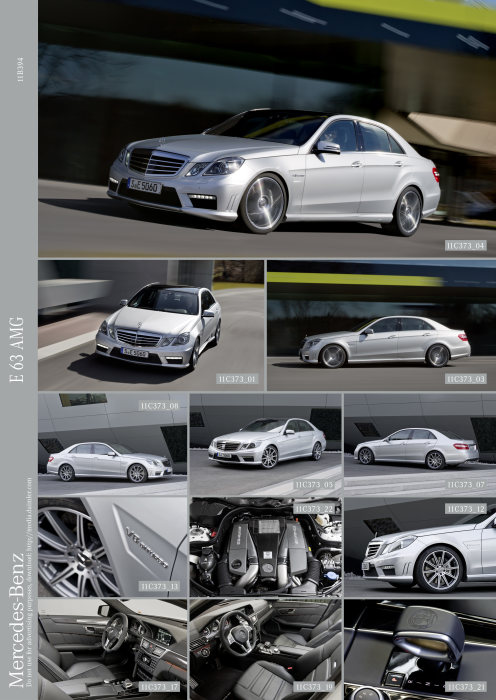 Mercedes-Benz E-Class: E 63 AMG with new AMG 5.5-litre V8 biturbo engine