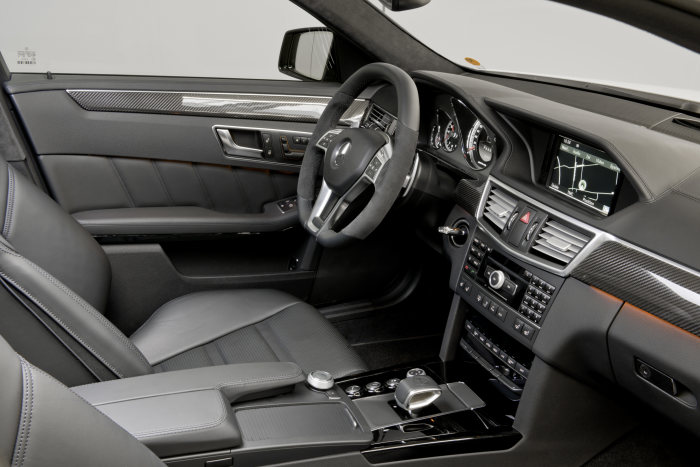 Mercedes-Benz E-Class: E 63 AMG with new AMG 5.5-litre V8 biturbo engine, interior