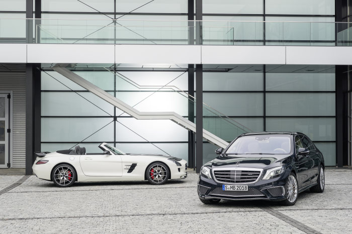 Double world premiere for Mercedes-AMG: Mercedes-Benz S 65 AMG and SLS AMG GT FINAL EDITION in Tokyo and Los Angeles