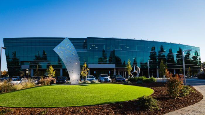 New Mercedes-Benz Research & Development North America, Inc. headquarters at Sunnyvale, California