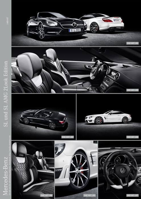 Mercedes-Benz SL and SL AMG 2LOOK Edition