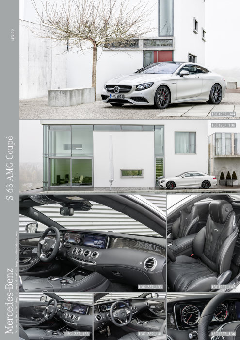 The new S 63 AMG Coupé