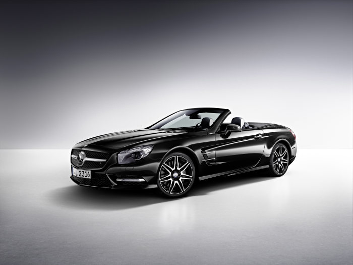 The new Mercedes-Benz SL 400