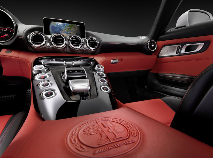 Mercedes-AMG GT, interior, studio