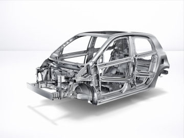 The new smart forfour 2014: bodyshell