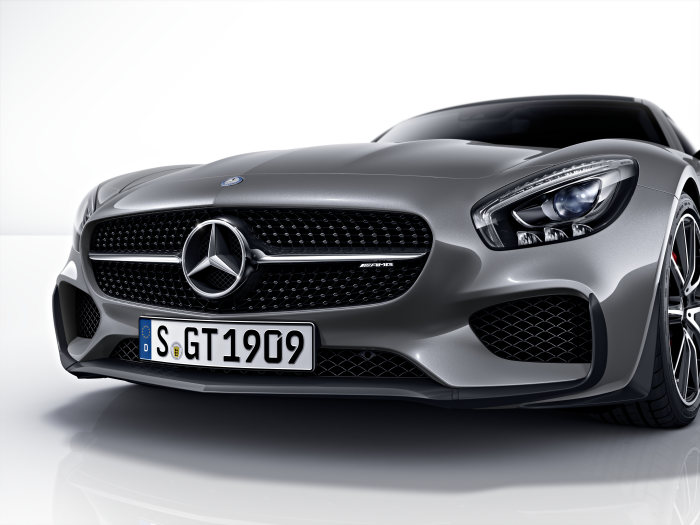 Mercedes-AMG GT S Edition 1, exterior: selenit grey