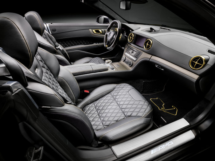 World Championship 2014 Collector's Edition. SL 63 AMG Edition Lewis Hamilton, Interieur