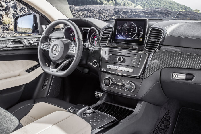 Mercedes-Benz GLE Coupé, GLE 450 AMG 4MATIC, interior: exclusive nappa leather porcellan/black
