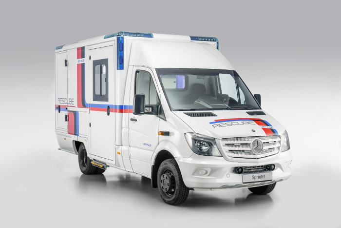 Mercedes-Benz Sprinter – Category Emergency Vehicles, Binz Ambulance, Exterior