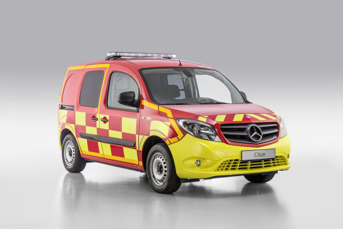 Mercedes-Benz Citan – Category Emergency Vehicles, Gruau, Exterior