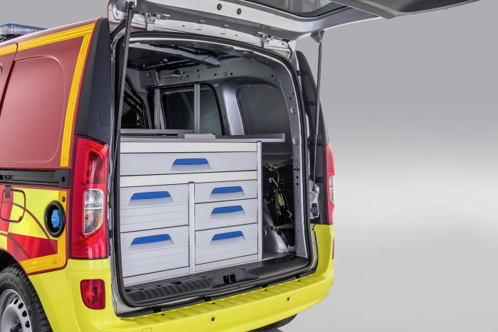 Mercedes-Benz Citan – Category Emergency Vehicles, Gruau, Interior