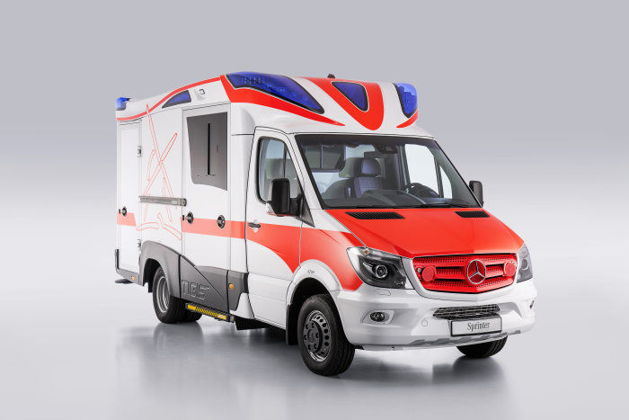 Mercedes-Benz Sprinter – Category Emergency Vehicles, Ambulanz Mobile, Exterior