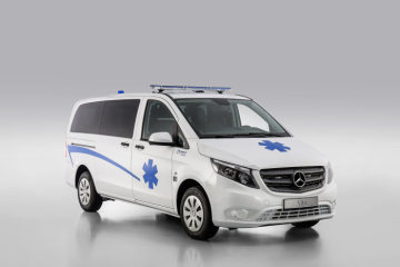 Mercedes-Benz Vito – Category Emergency Vehicles, Gruau, Exterior
