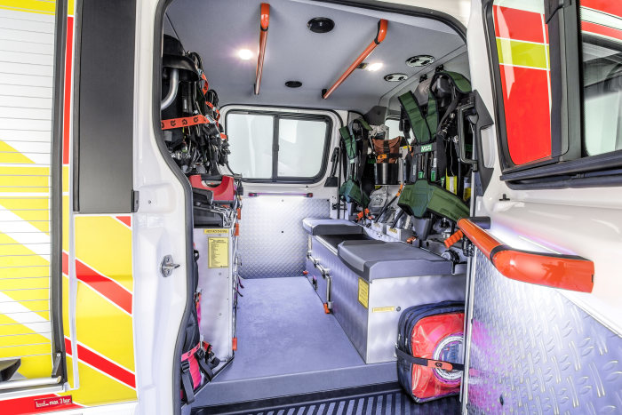 Mercedes-Benz Sprinter – Category Emergency Vehicles, Rosenbauer, Interior