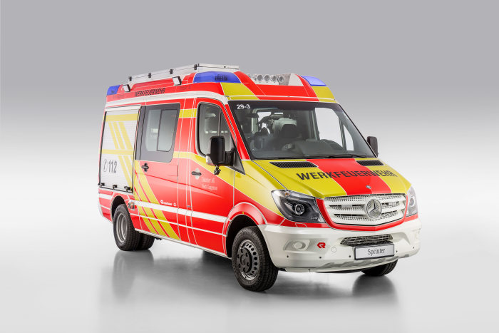 Mercedes-Benz Sprinter – Category Emergency Vehicles, Rosenbauer, Exterior