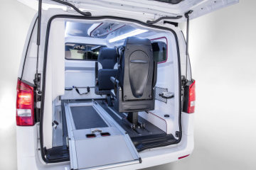 Mercedes-Benz Vito – Category Emergency Vehicles, Gruau, Interior