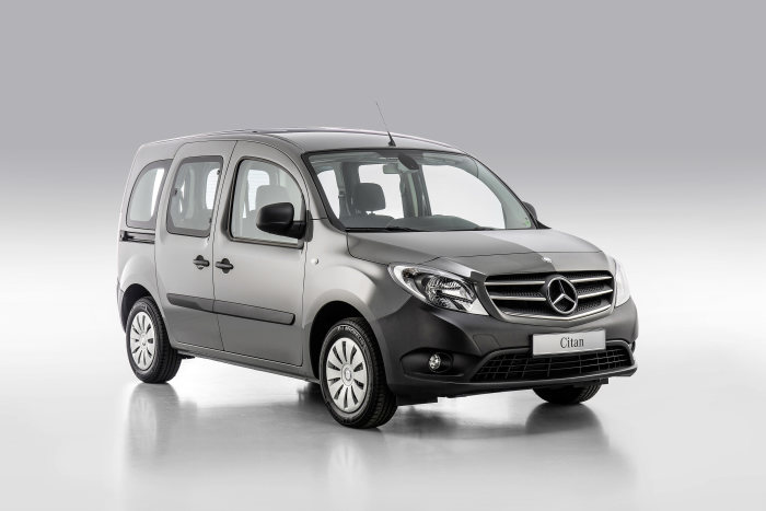 Mercedes-Benz Citan – Category Handicapped Mobility, Exterior