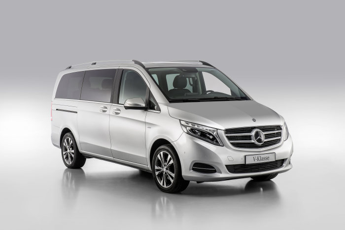 Mercedes-Benz V-Klasse – Category Handicapped Mobility, Exterior