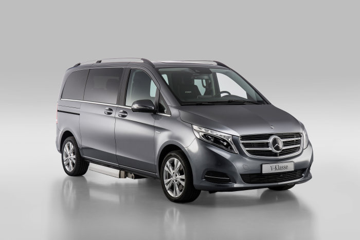 Mercedes-Benz V-Klasse – Category Handicapped Mobility, Paravan, Exterior