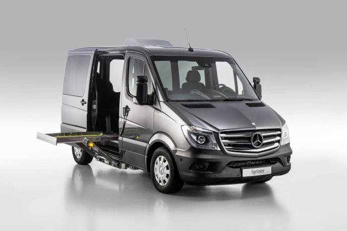 Mercedes-Benz Sprinter – Category Handicapped Mobility, Paravan, Exterior