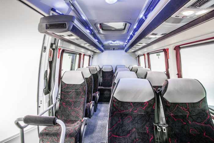 Mercedes-Benz Sprinter – Category People Mover, DAG, Interior