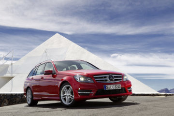 Mercedes-Benz C-Class, C 350 CDI AVANTGARDE, estate with sports package (S204; year 2011)