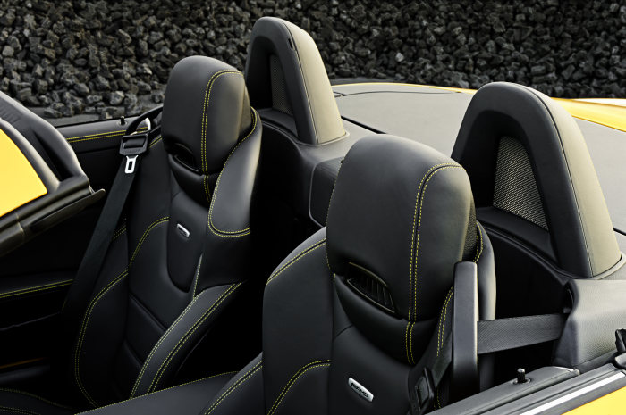 Mercedes-Benz SLK 55 AMG, Interieur