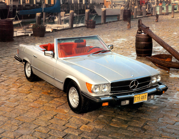 Mercedes-Benz 450 SL (R 107 series, 1971 to 1989), US version, model year 1979
