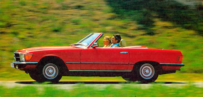 Mercedes-Benz 450 SL (R 107 series, 1971 to 1989). This version was built until 1980