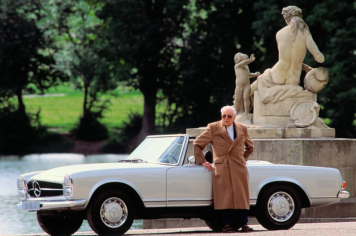 Mercedes-Benz 280 SL (W 113 series, 1963 to 1971), 1967 to 1971. Béla Barényi.