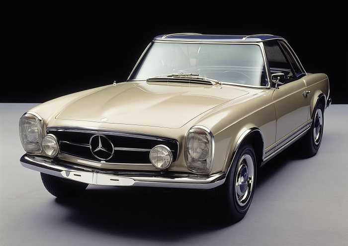 Mercedes-Benz 230 SL (W 113 series, 1963 to 1971), 1963 to 1967.