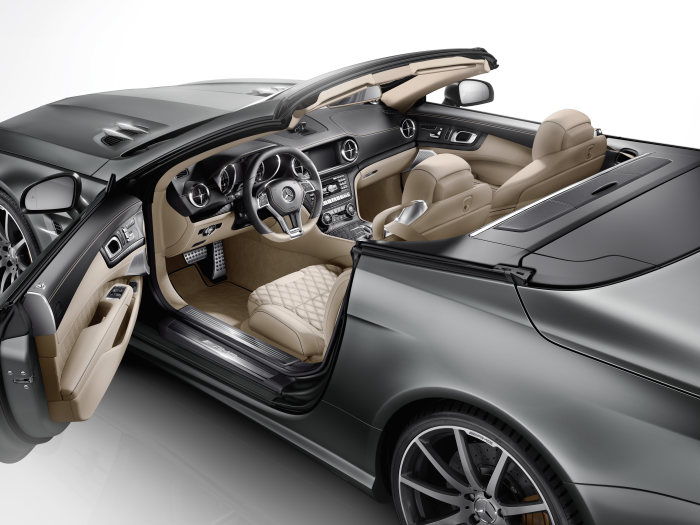 "Mercedes-Benz  SL-Class, SL 65 AMG ""45th ANNIVERSARY"" - special anniversary model"