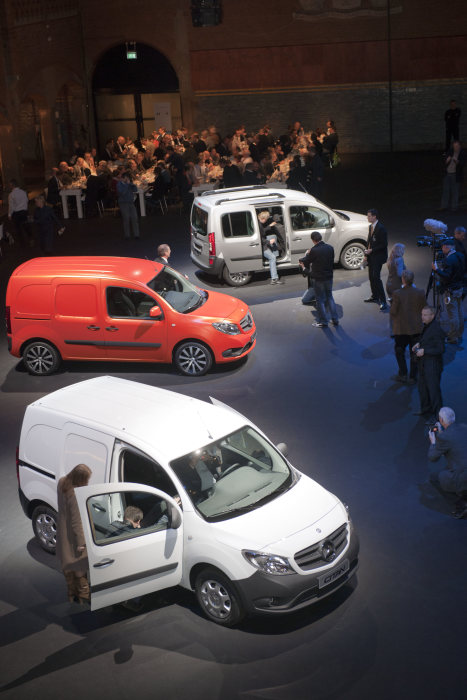 New Mercedes-Benz Citan celebrates its world premiere