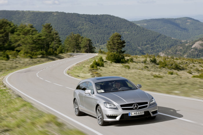 Mercedes-Benz CLS Shooting Brake, CLS 63 AMG, exterior