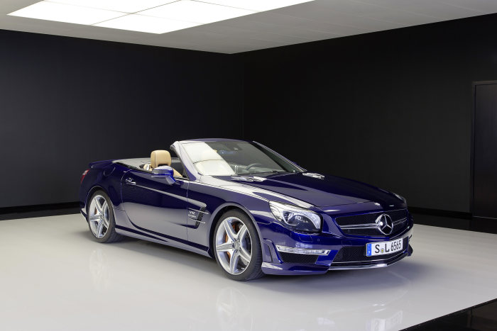 Market launch of the Mercedes-Benz SL 65 AMG