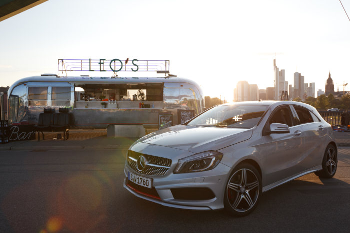 Winner of the FIRST STEPS Award with the new Mercedes-Benz A-Class