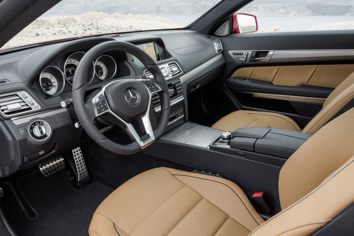 Mercedes-Benz E-Class Coupé, E 500, model year 2013, interior