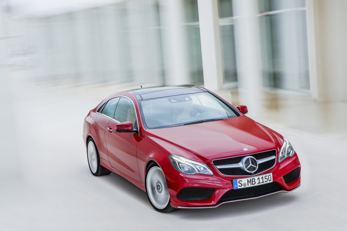 Mercedes-Benz E-Class Coupé, E 500, model year 2013, exterior