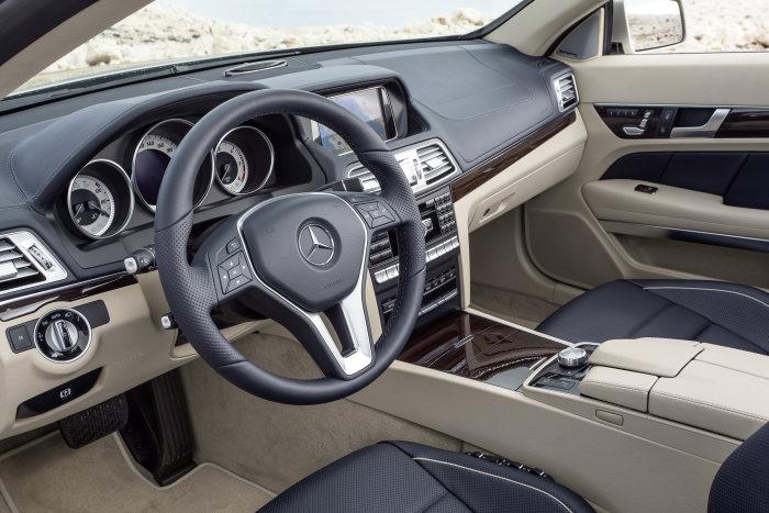 Mercedes-Benz E-Class Cabriolet, E 350 BlueTEC, model year 2013, interior