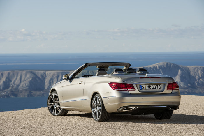 Mercedes-Benz E-Class Cabriolet, model year 2013, exterior