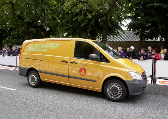 50 Mercedes-Benz Vito E-CELL panel vans are to be delivered to the Danish postal services over the coming months.