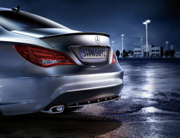 Mercedes-Benz Accessories for the CLA: Mercedes-Benz Sport Equipment - rear spoiler